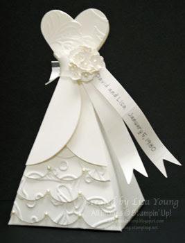 blog wedding dress favors