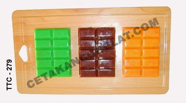 Cetakan Coklat TTC279 Chocobar cokelat bar