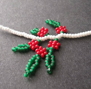 Christmas Holly Berry Fringe Project