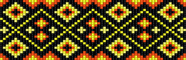 схема бисер станочное ткачество