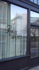 Doors of Pépé Le Moko in Portland
