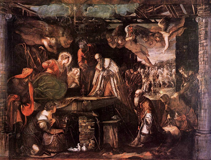 Tintoretto - The Adoration of the Magi