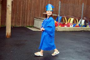 Rylee's Pre-K graduation