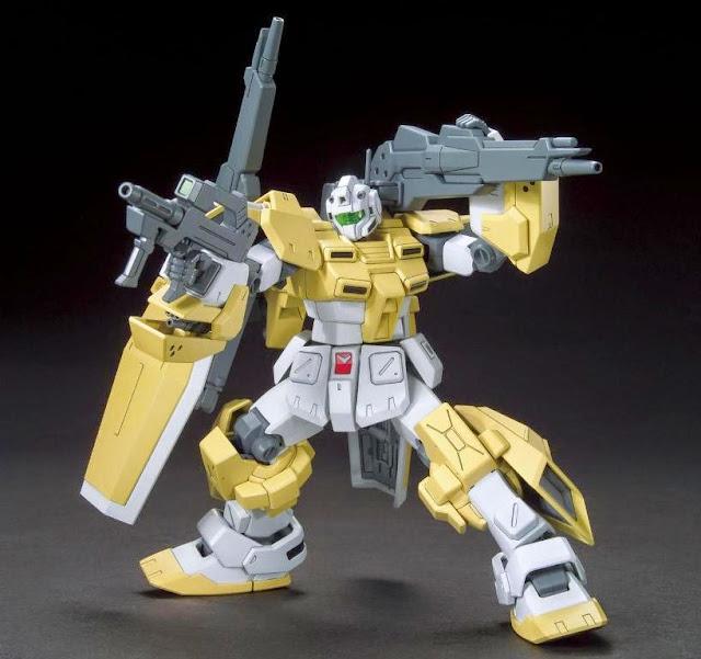 Các tư thế đẹp mắt, đa dạng của Gundam Powered GM Cardigan