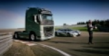 Koenigsegg One:1 takes Volvo truck challenge [VIDEO]