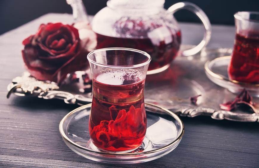 Karkadé tea