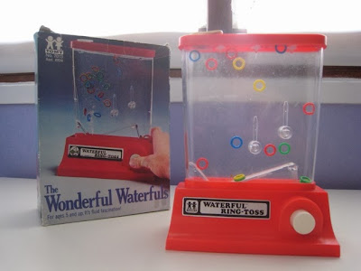 Waterful Ring Toss! I love the 80's www.thebrighterwriter.blogspot.com