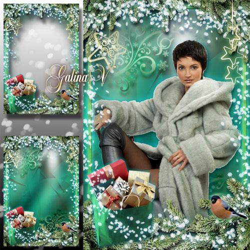 Рождественская рамка - Скоро будет праздник