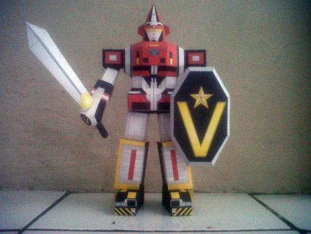 Dai Sentai Goggle V Paper Toy