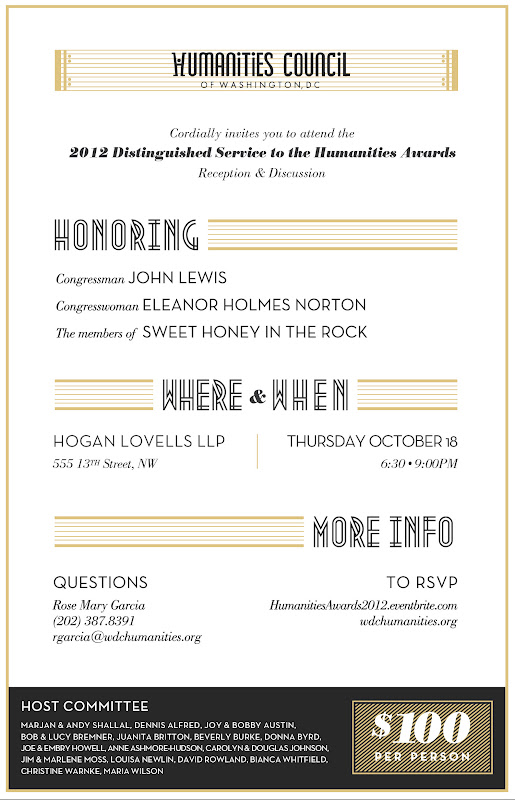 Distinguished Service Invite