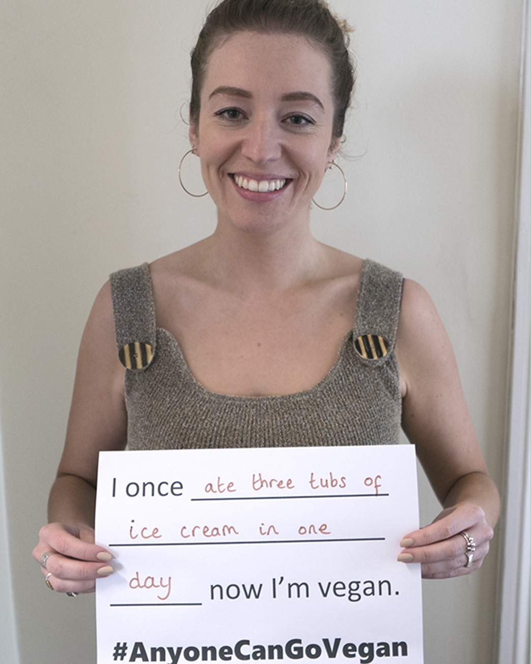 100+ vegans share their stories to prove #AnyoneCanGoVegan | Totally