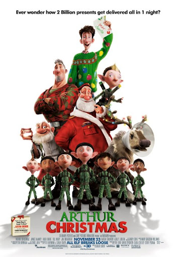 Arthur Christmas Movie 2011