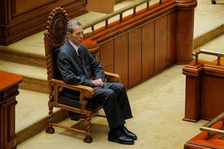 Discursul regelui Mihai în Parlament