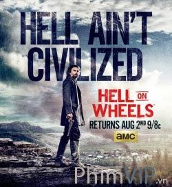 Bánh Xe Địa Ngục 4 - Hell On Wheels Season 4 poster