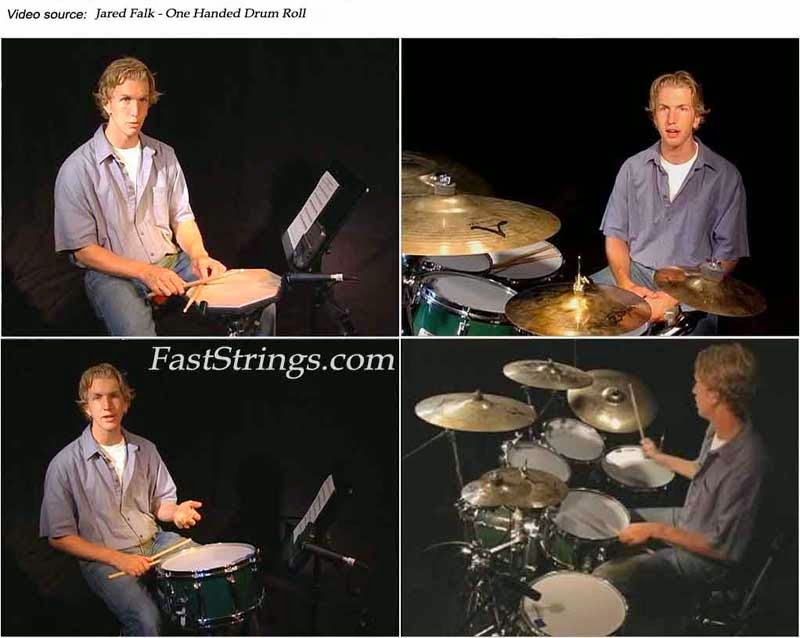 Jared Falk - One Handed Drum Roll