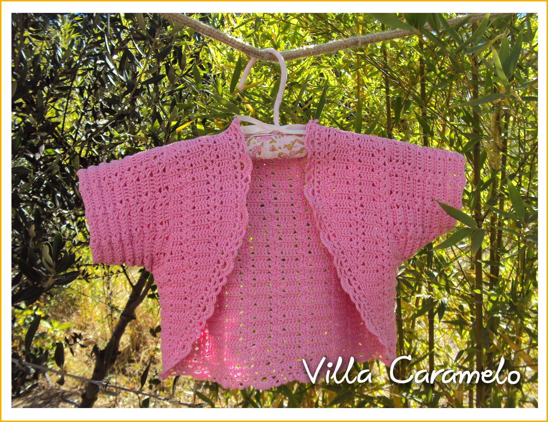 Villa Caramelo: Bolero a Crochet