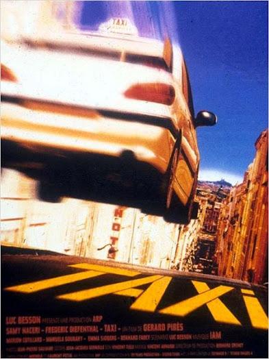 Affiche du film Taxi et Peugeot 406