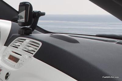 Fiat 500e charge indicator