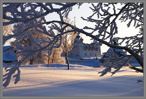 Посещение соловков зимой