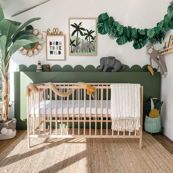 Baby Boy Jungle Concept Bedroom Ideas
