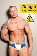 Muscular Men in Underwear Photos Gallery 21