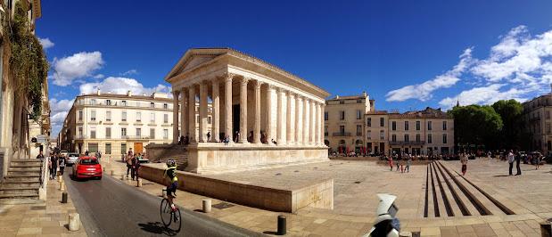 Мезон Карре (Maison Carrée) - «Квадратный дом» Достопримечательности Нима (Nîmes)