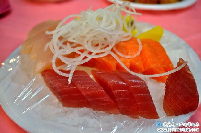 後壁湖彩莉鮮魚專賣店綜合生魚片