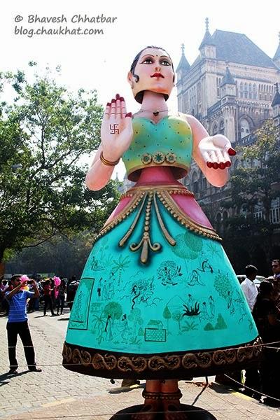 Kala Ghoda - Kathputli - responsive puppet