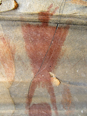 Buried Site pictographs