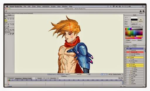 Anime Studio Pro v10.1 Español [MULTI] 2014-08-10_01h54_48