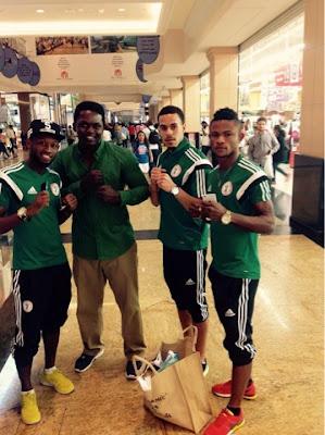 Nigeria football news,UAE Trip Excites Eagles, Salute NFF