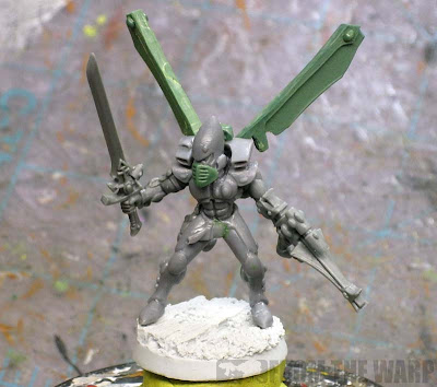 Eldar corsair conversion example