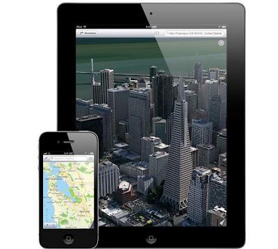 Los mapas de Apple continúan mejorando poco a poco