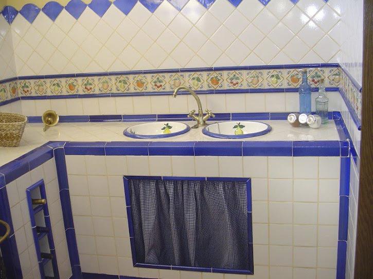Decoracion mueble sofa modelos de azulejos de cocina for Banos con ceramica rustica