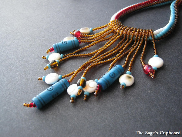 Neith the Weaver Necklace