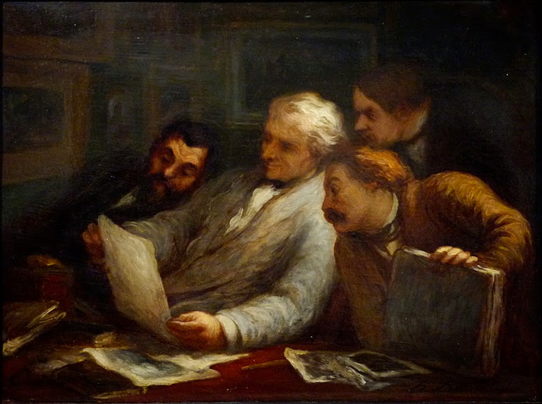 Honoré Daumier - The Print Collectors