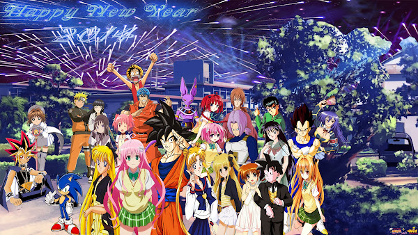 nrt happy new year 2014 by dbzandsm d700h4r happy new year 2014 anime