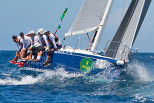 J/120 El Ocaso sailing in Rolex Regatta- St Thomas, USVI