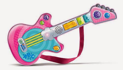 Đàn guitar cảm ứng LeapFrog Rockin' Guitar màu hồng rất đáng yêu