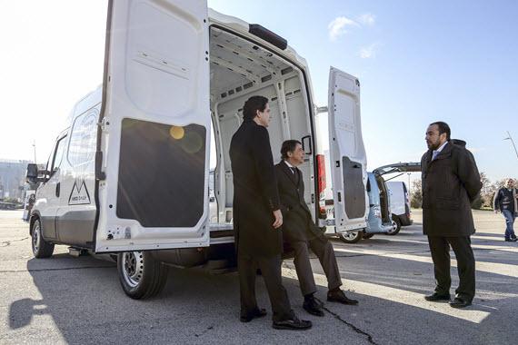 Subvenciones en 2015 para renovar la flota de furgonetas de reparto en la región