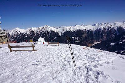 na zdjęciu panorama z regionu narciarskiego Ski AMade