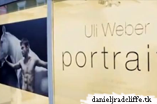 Dan on cover new book Portraits from Uli Weber