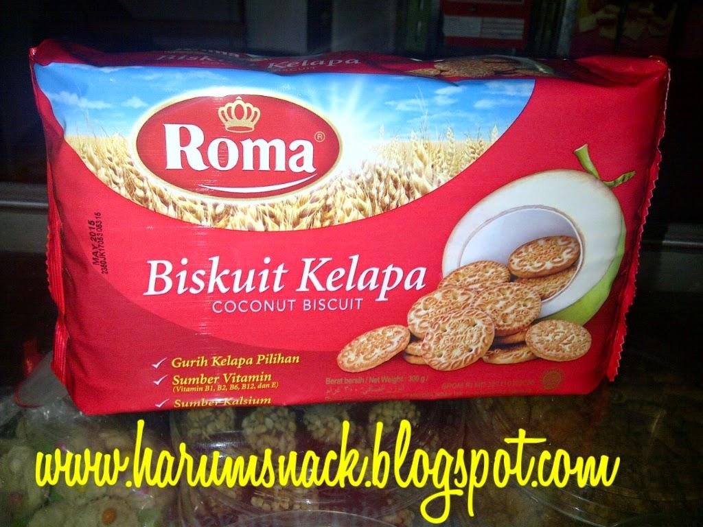 Harum Snack Biskuit Roma Kelapa