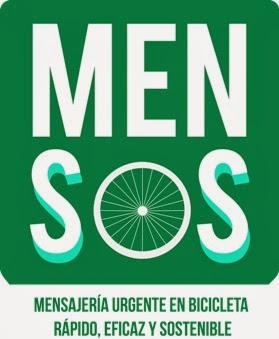 Mensos, mensajería en bicicleta