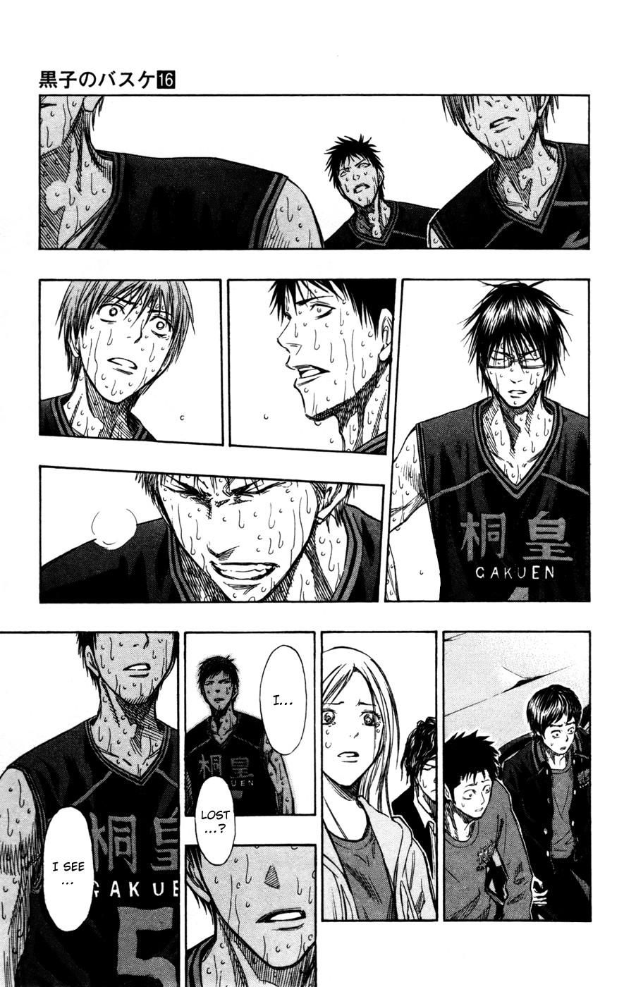 Kuroko no Basket Manga Chapter 139 - Image 09