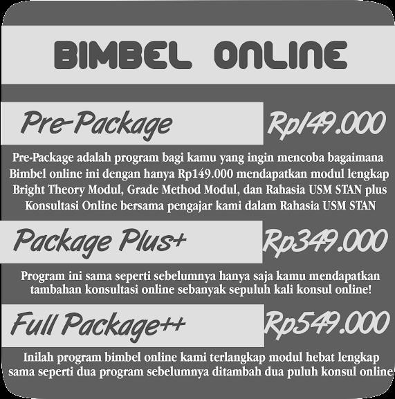 Bimbel STAN Online