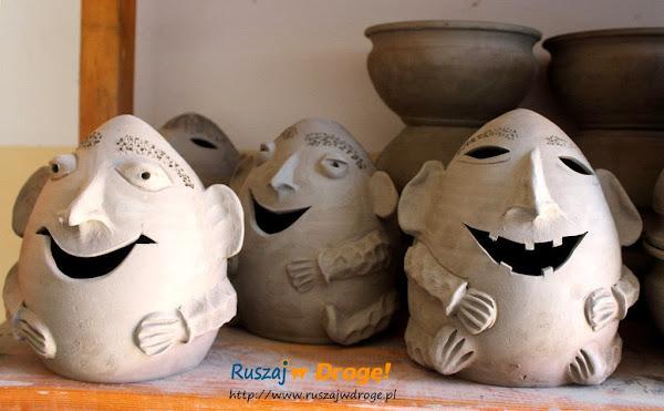 Chmielno - Muzeum Ceramiki Neclów - śmieszne stworki