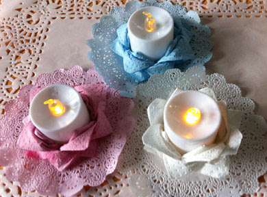 electric tealight holders