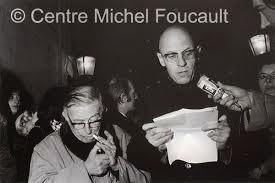 1972 - Michel Foucault et Jean-Paul Sartre devant le Ministère de la Justice