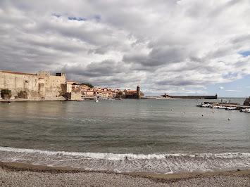 Départ dans Collioure